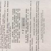 LP - Louis Armstrong - Face A Face - Booklet,, Ltd. Copy #001