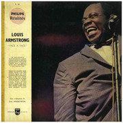 LP - Louis Armstrong - Face A Face - Booklet de 8 pages