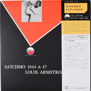 LP - Louis Armstrong - Satchmo 1944 & 47 - Mono