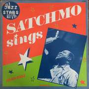 LP - Louis Armstrong - Satchmo Sings 1949-1955