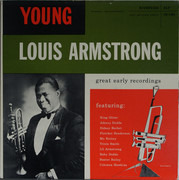 LP - Louis Armstrong - The Young Louis Armstrong