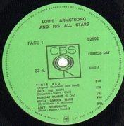 LP - Louis Armstrong - Louis Armstrong And His All Stars
