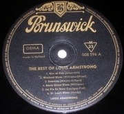 LP - Louis Armstrong - The Best Of Louis Armstrong - 33RPM