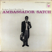 LP - Louis Armstrong And His All-Stars - Ambassador Satch - six eye columbia labels
