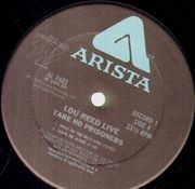 Double LP - Lou Reed - Lou Reed Live - Take No Prisoners