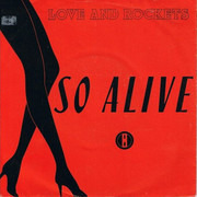7inch Vinyl Single - Love And Rockets - So Alive