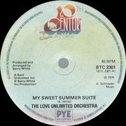 7'' - Love Unlimited Orchestra - My Sweet Summer Suite - Solid Centre