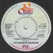 7'' - Love Unlimited Orchestra - Theme From King Kong