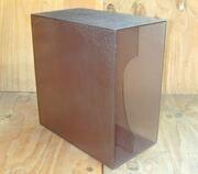 Protection - LP-Box, 70er Jahre - in transparent, für ca. 40 LPs