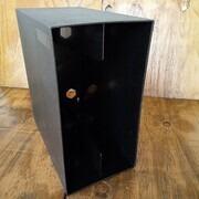 Vinyl Storage - LP-Box, 70er Jahre - in schwarz, für ca. 40 LPs
