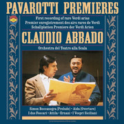 LP - Luciano Pavarotti , Claudio Abbado , Orchestra Del Teatro Alla Scala - Pavarotti Premieres - Gatefold