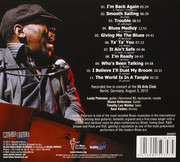 CD - Lucky Peterson - I'm Back Again - digipak