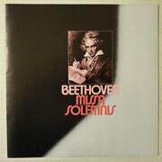 Double LP - Ludwig Van Beethoven - Berliner Philharmoniker , Herbert von Karajan - Missa Solemnis - Hardcover Box