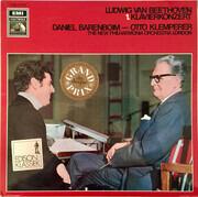 LP - Ludwig Van Beethoven - Daniel Barenboim , Otto Klemperer - Konzert für Klavier und Orchester Nr.1 C-dur op.15