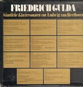 LP-Box - Ludwig van Beethoven - Friedrich Gulda - Sämtliche Klaviersonaten - booklet about these pieces of music