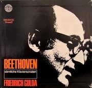 LP-Box - Ludwig van Beethoven - Friedrich Gulda - Sämtliche Klaviersonaten - one LP is missing!