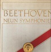LP-Box - Ludwig van Beethoven - Gewandhausorchester Leipzig - Franz Konwitschny - Ingeborg Wenglor , Ursula - 9 Symphonien - Hardcover Box
