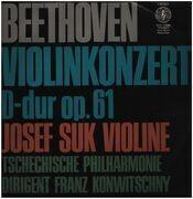 LP - Ludwig van Beethoven - Josef Suk - Violinkonzert D-dur Op. 61