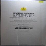 LP-Box - Ludwig Van Beethoven/ L. Bernstein, Wiener Philharmoniker - 9 Symphonien - booklet