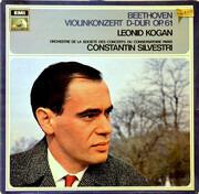LP - Ludwig van Beethoven - Leonid Kogan , Orchestre De La Société Des Concerts Du Conservatoire , Const - Violinkonzert D-dur Op. 61 - blue label