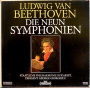 LP-Box - Ludwig van Beethoven - Orchestra Simfonică A Filarmonicii De Stat 'George Enescu' , George Georgescu - Die Neun Symphonien