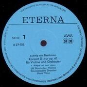 LP - Beethoven / Ulf Hoelscher - Violinkonzert