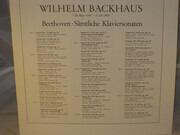 LP-Box - Beethoven (Backhaus) - Sämtliche Klaviersonaten - Linen box + booklet