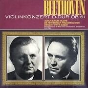 12inch Vinyl Single - Ludwig van Beethoven • Adolf Busch , The New York Philharmonic Orchestra Dirigent Fritz Busch - Violinkonzert D-Dur Op. 61