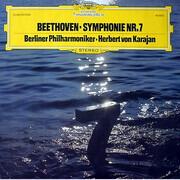 LP - Ludwig van Beethoven • Herbert von Karajan • Berliner Philharmoniker - Symphonie Nr. 7