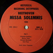 Double LP - Beethoven - Missa Solemnis - Hardcover Box