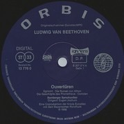 LP - Ludwig van Beethoven , Bamberger Symphoniker , Eugen Jochum - Ouvertüren - DMM