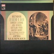 LP-Box - Beethoven (Klemperer) - Fidelio - Hardcoverbox + booklet