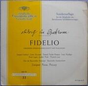 LP - Ludwig van Beethoven / Ferenc Fricsay, Bayerisches Staatsorch., Fischer-Dieskau, I. Seefried - Fidelio - tulip rim