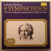 LP-Box - Beethoven - 9 Symphonien - Hardcover Box