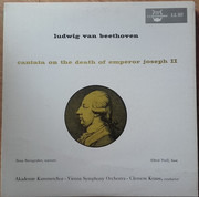 LP - Beethoven - C. Krauss - Cantata On The Death Of Emperor Joseph II - Mono