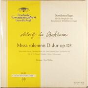 LP - Ludwig van Beethoven , Maria Stader • Marianna Radev • Anton Dermota • Josef Greindl • Chor Der St. - Missa Solemnis D-dur op. 123