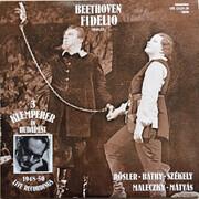 Double LP - Ludwig van Beethoven , Otto Klemperer , Rösler Endre , Anna Báthy , Mihály Székely , Maleczky Oszká - Fidelio