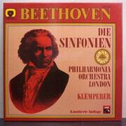 LP-Box - Ludwig Van Beethoven , Philharmonia Orchestra , Otto Klemperer - Die Sinfonien