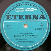 LP - Beethoven - Herbert von Karajan - Sinfonie Nr. 7 A-dur Op. 92 - Mono