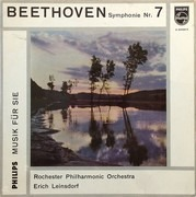 10'' - Beethoven / Rochester Philh. Orch., Leinsdorf - Symphonie Nr. 7