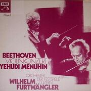 LP - Ludwig van Beethoven , Yehudi Menuhin , Lucerne Festival Orchestra , Wilhelm Furtwängler - Violinkonzert