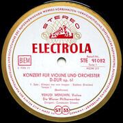 LP - Beethoven (Menuhin) - Violinkonzert D-dur Op. 61