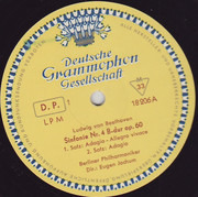 LP - Beethoven / Berliner Philharmoniker - Sinfonie Nr. 4 B-dur Op. 60