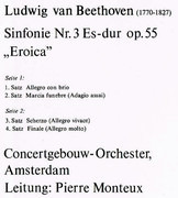 LP - Ludwig Van Beethoven - Eroica