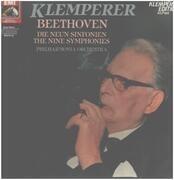 LP-Box - Beethoven (Klemperer) - Die Neun Sinfonien - Hardcover box + booklet