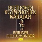 LP-Box - Ludwig van Beethoven / Herbert von Karajan , Berliner Philharmoniker - 9 Symphonien - Club-Sonderauflage