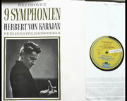 LP-Box - Ludwig van Beethoven / Herbert von Karajan , Berliner Philharmoniker - 9 Symphonien