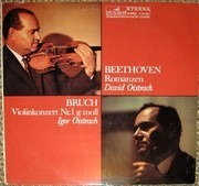 LP - Beethoven - Romanzen (David Oistrach)