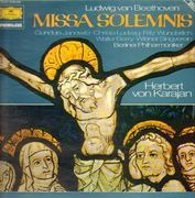 Double LP - Ludwig van Beethoven - Missa Solemnis - gatefold sleeve with booklet