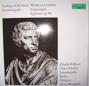 LP - Beethoven - Musik zu Goethes Trauerspiel Egmont op.84 - + insert